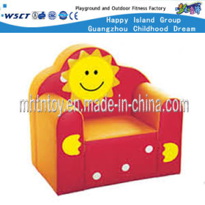 Children Furniture Sun Smile Leather Couch (HF-09802) pictures & photos