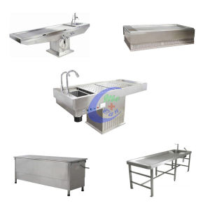 Morgue Equipment Stainless Steel Dissect Table pictures & photos
