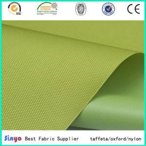 Oxford Poly Panama Soft PVC Coated 600d Fabric for Light Bags pictures & photos