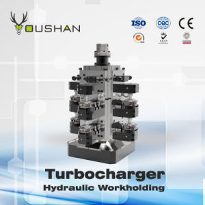 Turbocharger Intermediate Horizontal Machining Fixture