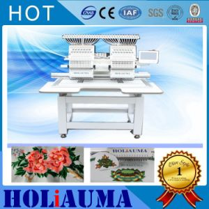 1502 2 Head Embroidery Machine Flat T-Shirt Two Heads Embroidery Machine Quilting Machine Cheap Price High Speed China pictures & photos