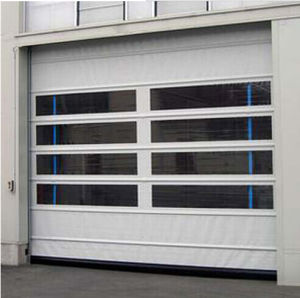 Vertical Lift with Low Level Shaft High Speed Garage Auto Door (Hz-FC0243) pictures & photos