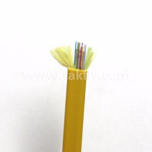 2 Core Gjdfjv Flat Fiber Optic Ribbon Cable pictures & photos