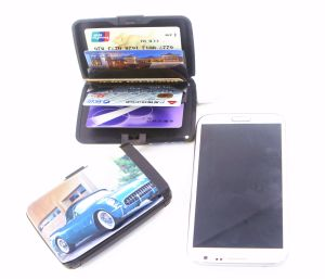 RFID Power Bank Credit Card Wallet pictures & photos