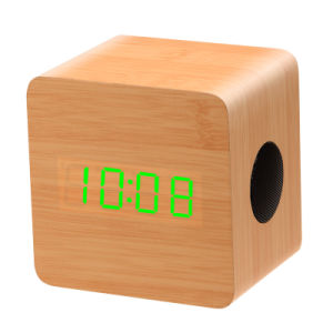 New Products 2017 Wooden High Quality Digital Wireless Mini Smart Magic Cube Bluetooth Speaker for Sale