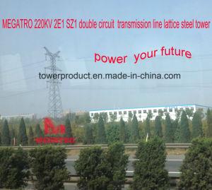 Megatro 220kv 2e1 Sz1 Double Circuit Suspension Transmission Tower pictures & photos