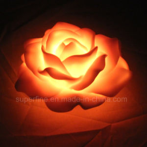 Cute Floating Artificial Battery Operated Plastic LED Peony Flowers for Children pictures & photos