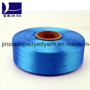 Polyester Fialment Yarn FDY 50d/24f Dope Dyed pictures & photos