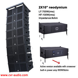 Concert Speaker 10 Inch Active Line Array Audio Mixer pictures & photos