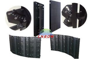 Hot Sale P5.68 Full Color Curved LED Display Screen for Stage/Advertising pictures & photos