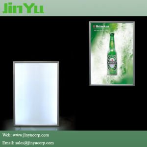 23mm Thick LED Illuminated Snap Slim Light Box pictures & photos
