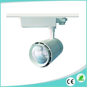 Black/White Housing 40W CREE LED Track Lighting with 5years Warranty pictures & photos
