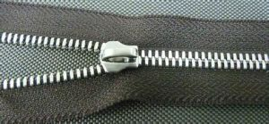 5# Metal Aluminum Zipper Open-End with Hook Nickle Slider pictures & photos