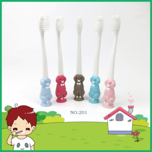 Colorful PP Handle Small Kids Toothbrush pictures & photos