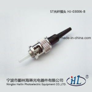 St 0.9mm Fiber Optic Connector with Ferrule for Assembly Patch Cords pictures & photos