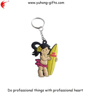 Factory Price Custom PVC Keychain/Silicone Rubber Keyring (YH-KC169) pictures & photos