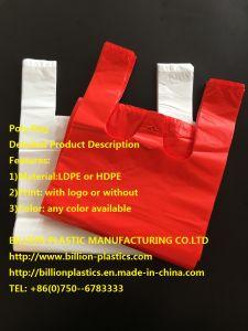 HDPE T-Shirt Bag Vest Bag pictures & photos