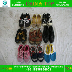Used Clothes Export to Africa High Quality Used Shoes in Bulk pictures & photos