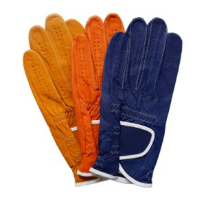New Color Cabretta Golf Glove pictures & photos