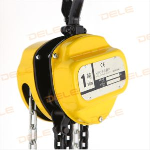 1ton Chain Pully Block of Lifting Equipment pictures & photos