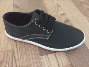 Leisure Comfort PU Men Casual Shoes pictures & photos