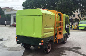 Electric Refuse Truck with Side Loading Ce Approved pictures & photos