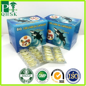 GMP Certified Refined Fish Oil Softgel pictures & photos