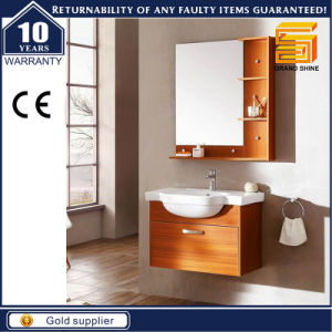 High Quality Solid Wood Wall Mounted Bathroom Cabinet Vanity pictures & photos