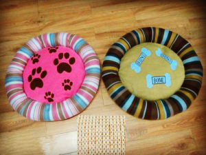 Round Knitted Fabric Pet Bed pictures & photos