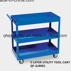 3 Layer Utility Tool Cart pictures & photos