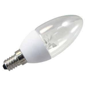 SMD2835 Plastic 6W E14 LED Candle Bulb AC100-265V with Ce RoHS pictures & photos