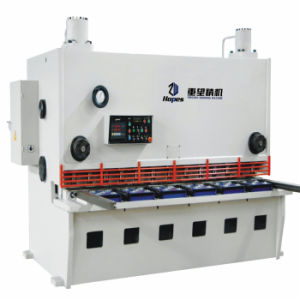 QC11k 8*3200 Hydraulic CNC Guillotine Shear Machine pictures & photos