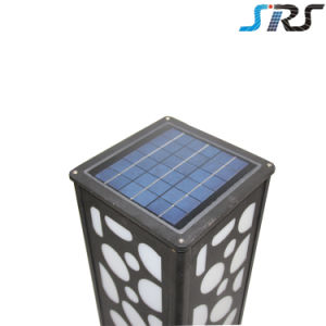 2016 SRS New Design Super Bright Wholesale Cube LED Solar Garden Light Solar Lawn Lamp pictures & photos