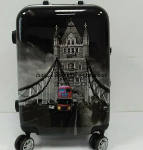 Promotional Wholesale PC Travel Trolley Bag, Hand Luggage Suitcase with Wheels