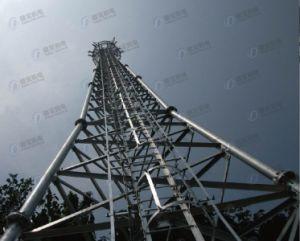Galvanized Triangular Steel Lattice Communication Tower pictures & photos