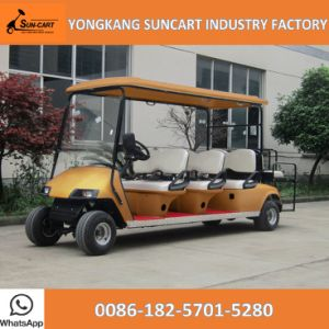 8 Seater Ce Approved Club Hotel Car Electric Vehicle Golf Cart for Sale, Customized Color pictures & photos