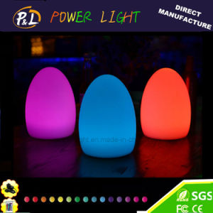 Decorative Wireless Colorful Illuminated LED Egg Lamp for Easter pictures & photos