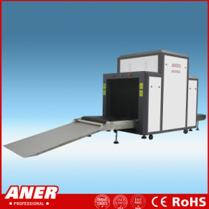 ISO Approve Tunnel Size 800X650mm Railway Station Security Check Machine X-ray Baggage Detector Scanner Have Two Display pictures & photos