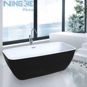 Freestanding Bath Tub One Piece Acrylic Bathtub (9008B) pictures & photos