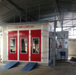Wld6200 Luxury Door Paint Booth Car Paint Booth pictures & photos