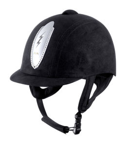 Horse Equipment Horseback Riding Safety Helmet in Microfibre Shell pictures & photos