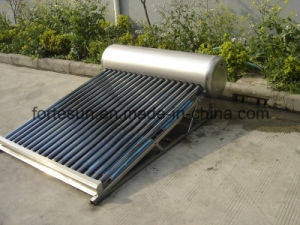 Domestic Low Pressure Vacuum Tube Solar Water Heater pictures & photos