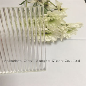 3mm-8mm Patterned Glass /Rolled Glass with Large Ripple for Decoration pictures & photos