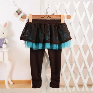 Girls Cotton Pantskirt with Lace for Spring and Autumn pictures & photos