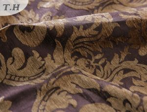 100% Polyester Latest Jacquard Fabric with Excellent Chenille pictures & photos