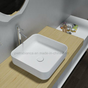 Corian Solid Surface Wash Table Top Basin (PB2120 400)
