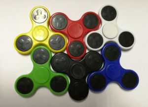 Hot Sale Metal and plastic Relaxing Hand Spinner pictures & photos