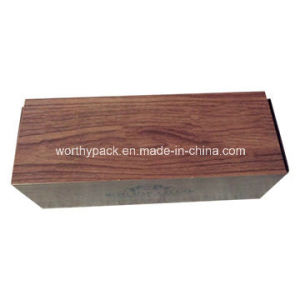 Wooden Wine Bottle Packaging/ Gift Box for Promotion and Advertising