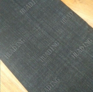 Sulphur Black Jeans Denim Fabric (HD815-4) pictures & photos
