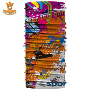 Professional Factory Digital Print Design Tennis Stretchy Seamless Tube Bandana pictures & photos